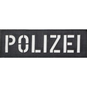 Polizei Patch groß